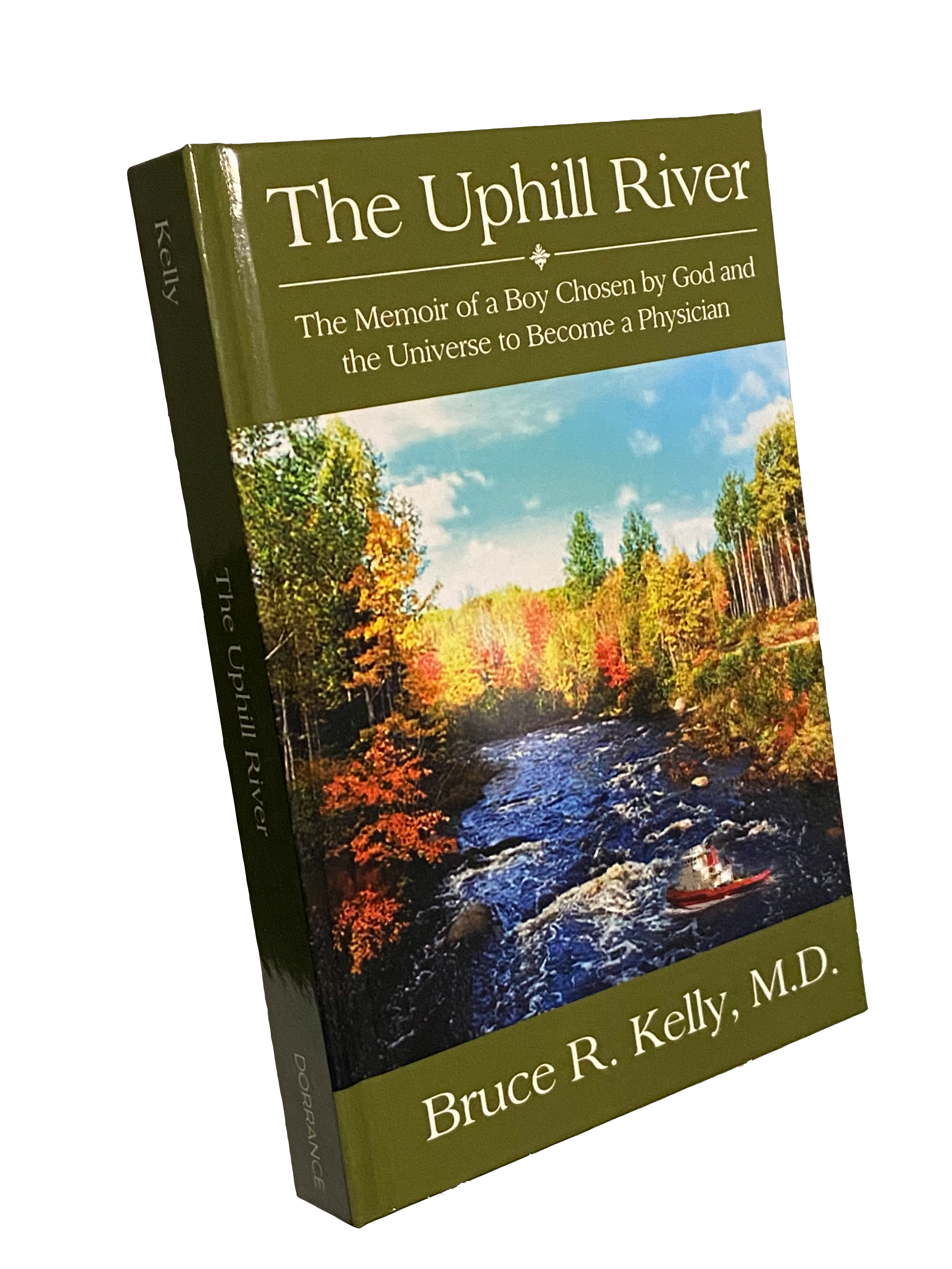 The Uphill River Hardback Book